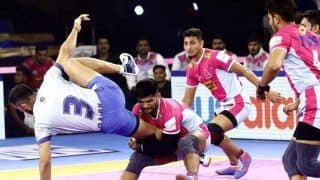 PKL 2019: Tamil Thalaivas Edge Jaipur Pink Panthers To Break Losing Streak