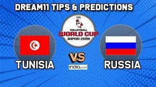 Dream11 Team Tunisia vs Russia Match 63 FIVB Volleyball Men's World Cup 2019 – Volleyball Prediction Tips For Today's Match TUN vs RUS in Hiroshima