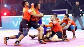 Pro Kabaddi League: U Mumba Beat Haryana Steelers 46-38 to Enter Semi-Final