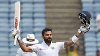 2nd Test: Kohli Hundred, Rahane Fifty Take India to 356/3 at Lunch