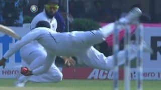 WATCH: Rohit Takes a One-Handed Screamer at Second Slip