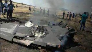 भारतीय नौसेना का MiG-29K विमान गोवा में दुर्घटनाग्रस्त, दोनों पायलट सुरक्षित