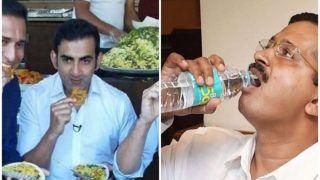 BJP MP Gautam Gambhir Takes a Dig at Delhi CM Arvind Kejriwal Over Delhi's 'Free' Toxic Tap Water, Says 'Jal Ya Jalebi' | SEE POST