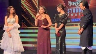 Monalisa Aka Antara Biswas Bags Stardom Award For Best Actor in Negative Role in Nazar