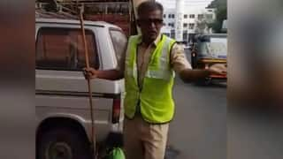 Watch | How This Pune Sanitation Worker Spreads Awareness About Cleanliness Through His Songs