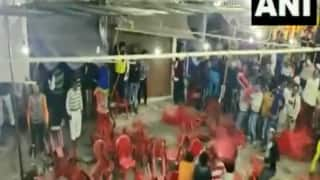 Watch | Fight Breaks Over Seating Arrangement During Qawwali Event In Haridwar, Chairs Hurled