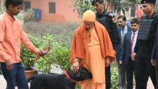 Meet Kalu, UP CM Yogi Adityanath's Pet Dog Whose Pictures Have Gone Viral on Social Media