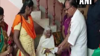 105-Year-Old Kerala Woman Sits For Class 4 Exam, Internet Salutes Her