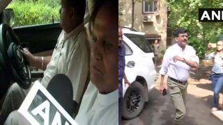 महाराष्ट्र पर सियासत गरमाई: गडकरी से मिले अहमद पटेल, संजय राउत NCP चीफ पवार से मिले