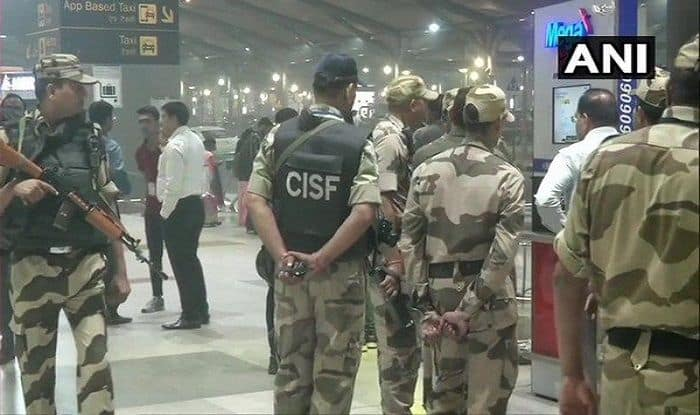 IGI Airport, RDX, CISF, Security scare
