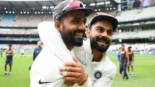 SAVAGE | Rahane's Witty Reply Steals Kohli, Dhawan's Thunder on 'Day-Night Test' Insta Post