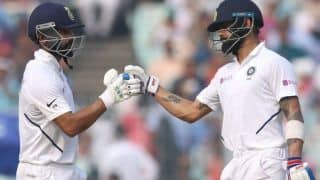 Pink ball test indvban virat kohli ajinkya rahane breaks sachin tendulkar sourav ganguly 4th wicket record in test cricket