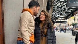 Bhojpuri Hot Couple Amrapali Dubey-Nirahua Share Romantic Moment in London as They Wrap-up The Shoot of 'Dulha Hindustani Dulhan Englishtaani'