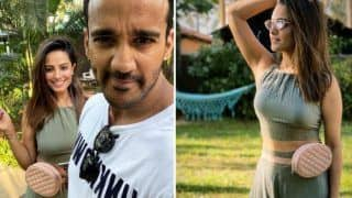 Anita Hassandani Raises Hotness Bar in Green Crop Top And Skirt as She Vacays in Goa With Hubby Rohit Reddy