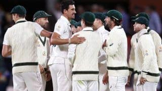 Aus vs pak 2nd test after david warner triple century mitchell starc shocked pakistan with 4 wicket