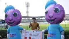 टीम इंडिया के पहले डे-नाइट टेस्ट के शुभंकर होंगे 'पिंकू और टिंकू', BCCI अध्यक्ष सौरव गांगुली ने किया अनावरण
