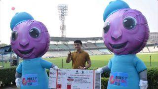 टीम इंडिया के पहले डे-नाइट टेस्ट के शुभंकर होंगे 'पिंक और टिंकू', BCCI अध्यक्ष सौरव गांगुली ने किया अनावरण
