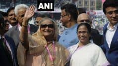 'India-Bangladesh Ties at Their Best Now,' Says Sheikh Hasina After Meeting Banerjee on Sidelines of Pink Ball Test Match