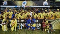 IPL 2020: CSK ने दिया 5 खिलाड़ियों को रिलीज करने का संकेत, इनकी हो सकती है छुट्टी