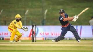 Abu dhabi t10 leauge chris lynn scores 91 after being released by kkr breaks alex hales highest individual t10 record