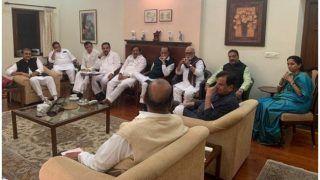 महाराष्ट्र सरकार गठन: दिल्ली में कांग्रेस-एनसीपी नेताओं के बीच मंथन, देखें VIDEO