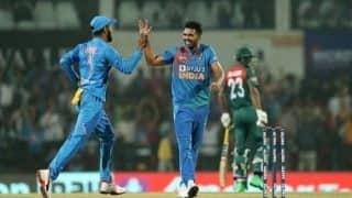 India vs Bangladesh 2019: Hat-Trick Hero Deepak Chahar Records Best Bowling Figures in T20I History