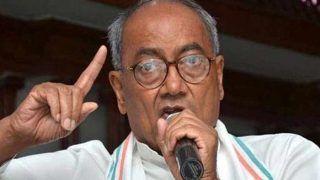 दिल्ली विधानसभा चुनाव: मतगणना के बीच कांग्रेस नेता दिग्विजय सिंह ने उठाए EVM पर सवाल, कही ये बात