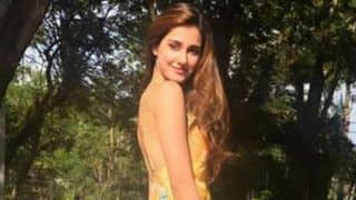 Disha Patani Looks Hot as She Goes Backless in Floral Bright Yellow Dress During Her Thailand Vacay