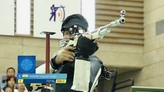 Divyansh Singh Panwar Shoots Gold in 10m Air Rifle Event in ISSF World Cup Final in Putian, Propels India to Top of Medals Tally