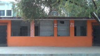 Saffron-Coloured Building Believed to be a Temple in UP Turns Out to Be A Public Toilet