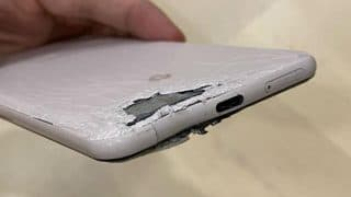 Google Pixel 3 XL takes bullet to save a photographer in Hong Kong
