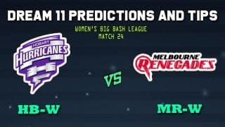 Hobart Hurricanes Women vs Melbourne Renegades Women Dream11 Team WBBL