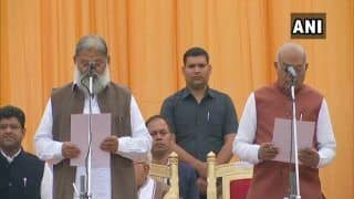 Haryana Cabinet Expansion: BJP MLA Anil Vij, Nine Others Sworn-in as Ministers