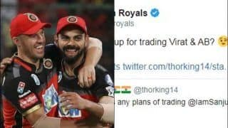 IPL 2020: Rajasthan Royals Want AB de Villiers, Virat Kohli From RCB And Give Mr. Nags in Return | SEE POST