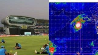 Cyclone Maha Could Ruin India-Bangladesh 2nd T20I in Rajkot, Saurashtra CA Keeping Tab