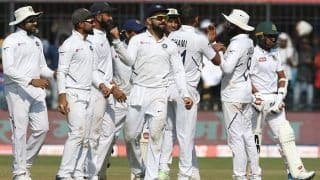 India Dominate Bangladesh On Day One of Indore Test