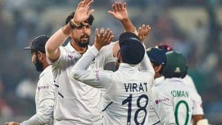 Pink-Ball Test: India Thrash Bangladesh by an Innings and 46 Runs, Complete 2-0 Series Sweep