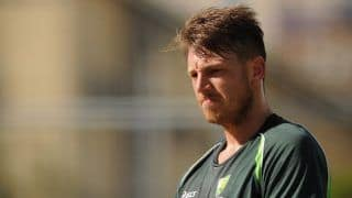 James pattinson ruled out of first test against pakistan due to code of conduct breach