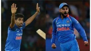 Icc odi rankings virat kohli jasprit bumrah retain top spots