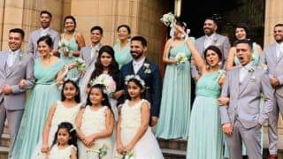 Television Hot Actor Jennifer Winget Looks Breathtaking in Mint Green Gown as She Turns Bridesmaid For Her Friend