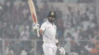 India vs bangladesh 2nd test virat kohlis 27th century lead hosts to 289 4 at lunch
