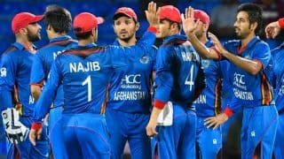AFGH vs WI 2nd T20I Report: Karim Janat Picks Five-For as Afghanistan Thump West Indies by 41 Runs to Level Series 1-1 in Lucknow