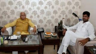 Haryana Cabinet Expansion on Thursday, BJP Ally JJP Likely to Get Two Berths