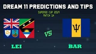 Leeward Islands vs Barbados Dream11 Team Prediction Super50 Cup 2019: Captain And Vice-Captain, Fantasy Cricket Tips LEI vs BAR Match 14, Group A at Warner Park, Basseterre, St Kitts 11:00 PM IST