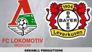 Dream11 Team LOK vs LEV UEFA Champions League 2019-20 Football Prediction: Captain, Vice-Captain, Fantasy Tips For Today's Match Lokomotiv Moscow vs Bayer Leverkusen at Lokomotiv Stadium 11:25 PM IST