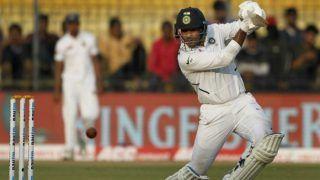 इंदौर टेस्ट: मयंक-रहाणे की अर्धशतकीय साझेदारी से लंच तक भारत 188/3