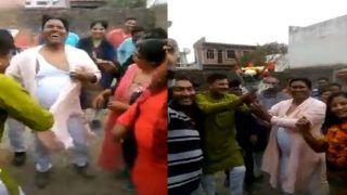 जीत की ऐसी खुशी! कुर्ताफाड़ के नाचे विधायक, देखती रह गई जनता, देखें ये वायरल वीडियो