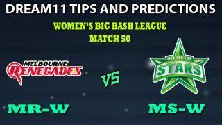 Melbourne Renegades Women vs Melbourne Stars Women Dream11 Team Prediction Women   s Big Bash League 2019
