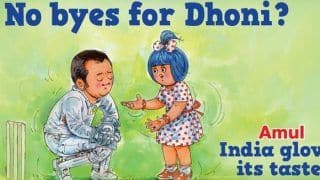 'No Byes For MS Dhoni': Amul's Latest Caricature on Former India Captain's Retirement Rumours Cannot be Missed | SEE POST