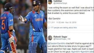 Gautam Gambhir Trolled After Blaming MS Dhoni For Missing His Century in 2011 WC Final | SEE POSTS